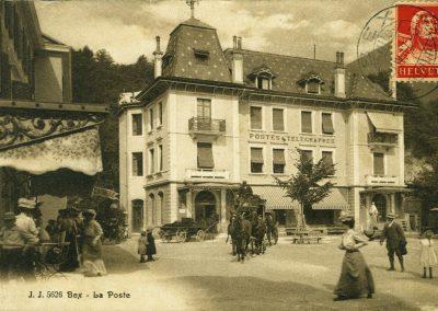 La poste 1917
