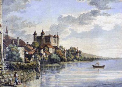 Gravure du château
