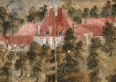 Le plafond peint du château de St-Christophe