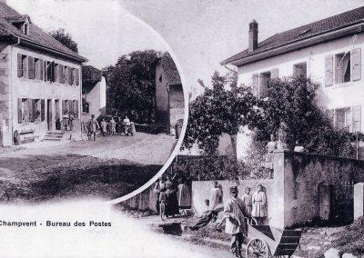 Poste du village de Champvent